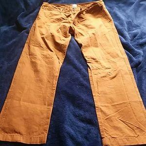 New Lands' End Canvas Pants. Size 33x32